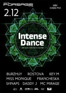 Intense dance