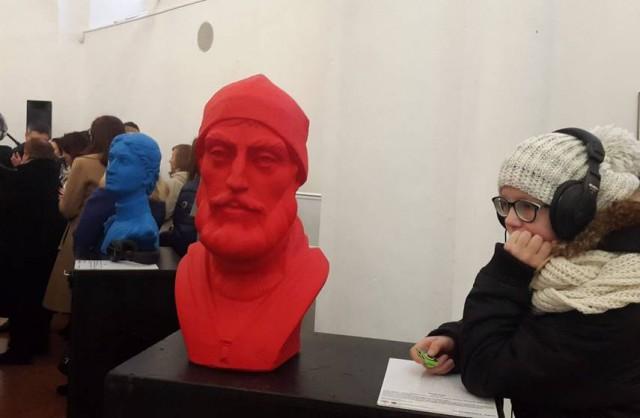 """На ней представлены объемные """"портреты"""" великих украинцев"""