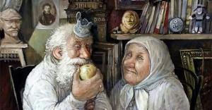 Как Люба и Яша Новый год встречали.  ̶Н̶Е̶Выдуманная история из жизни киевских пенсионеров