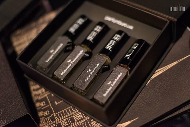 Уникальный набор кожаных ароматов Ukrainian Leather Set