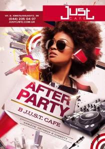 Вечеринка AFTERPARTY в JUST C.A.F.E.