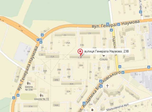 ЧП произошло на улице Наумова. Скриншот с сайте Яндекс.карты