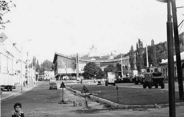 Житний рынок, 1980-е годы. (Фото: oldkiev.ho.ua)