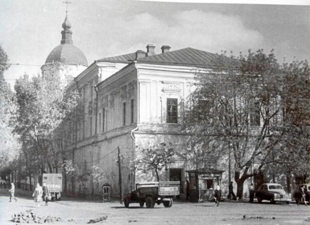 Корпус Киево-Могилянской академии, ул. Г. Сковороды. 1959 год. (Фото: oldkiev.ho.ua)