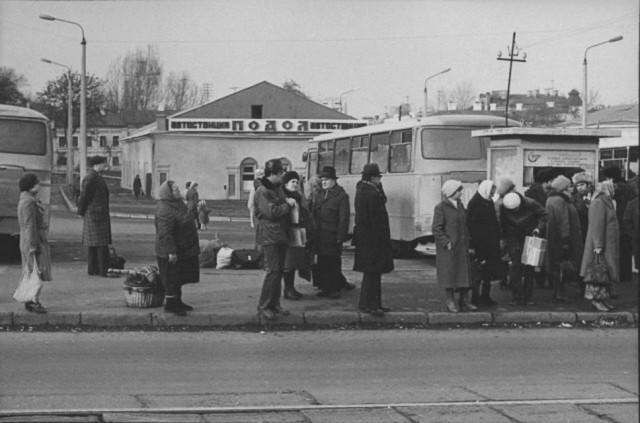 """Автостанция """"Подол"""", 1982 год. (Фото: oldkiev.ho.ua)"""