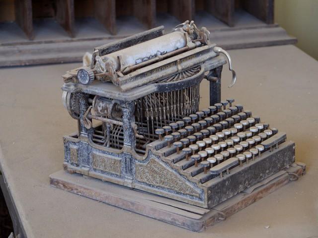 Печатная машинка Смит Премьер (англ. Smith Premier), производившаяся в конце XIX века.