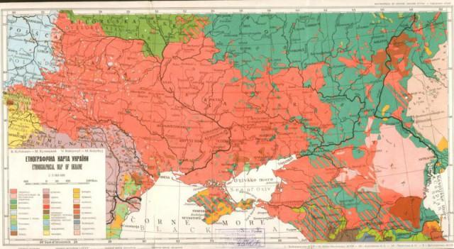 Карта 1949 года. Источник фото: nv.ua.