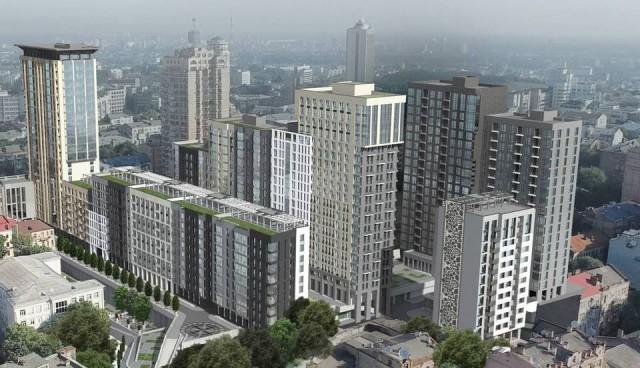 Проект жилого комплекса на месте Сенного рынка