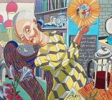В Киеве проходит выставка британца, который переодевается в женщину