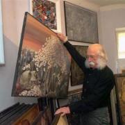 Скандал в Киеве: у известного художника похитили более ста картин