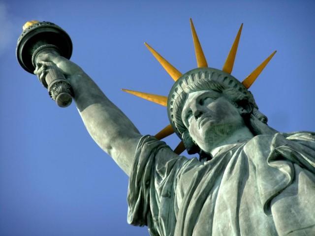 """Нью-Йорк. Свобода — символ демократии и """"американской мечты"""""""