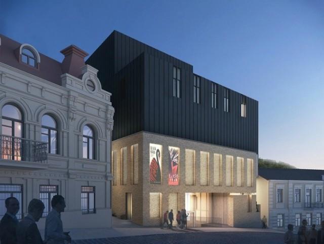 Киев. Проект театра сравнивали с ларьком и крематорием