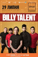 Billy Talent в Киеве