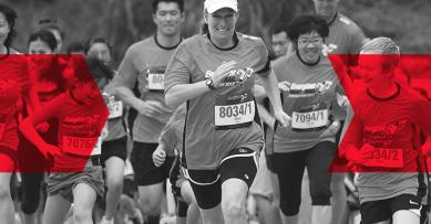 Мама, папа, я - спортивная семья: семейный забег Nova Poshta Kyiv Half Marathon