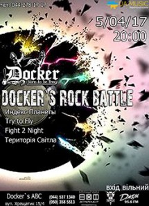 Docker's ABC Rock Batle