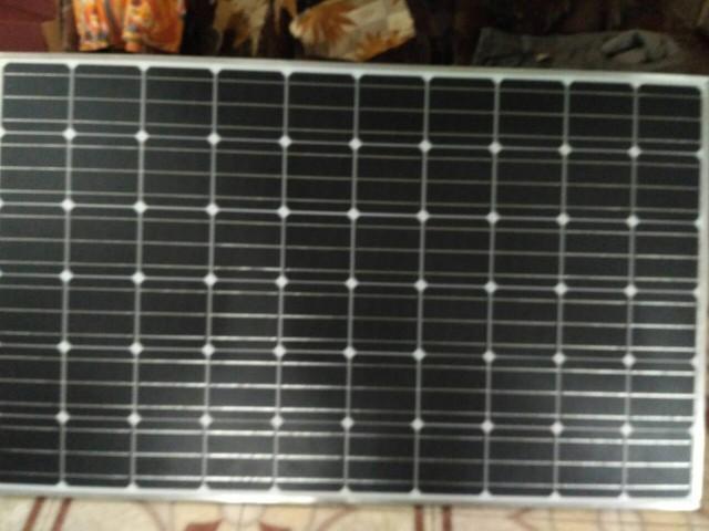 Солнечные панели. Фото: В. Бондарь