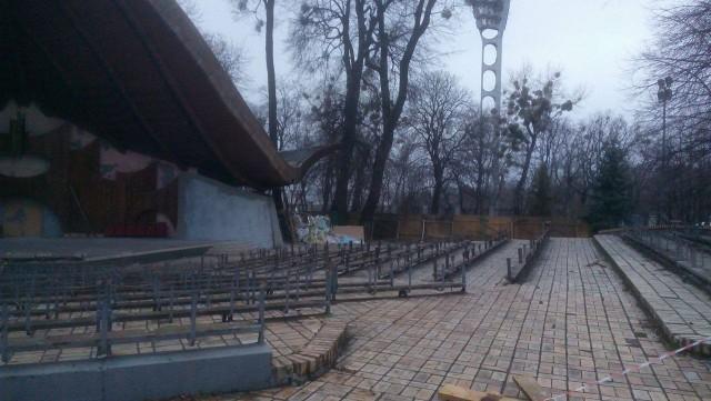 """Так выглядела """"Ракушка"""" в начале апреля. Фото: А. Марущак"""