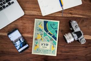 Пользователи Instagram проиллюстрировали путеводитель по Киеву