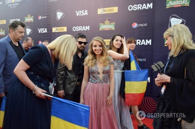 Представительница Румынии Илинка Фото: Юрий Сомов