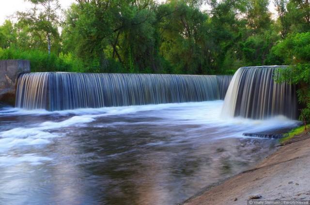 Чтобы увидеть водопад, не обязательно ехать в Карпаты