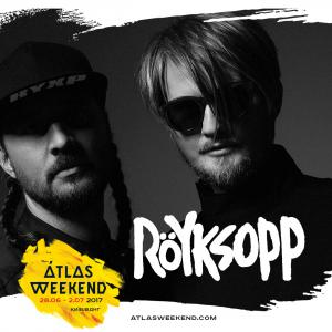 Röyksopp выступит на фестивале Atlas Weekend 2017