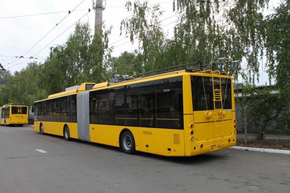 Корпорация «Богдан» поставит Киеву 80 низкопольных троллейбусов