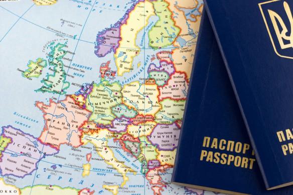 Безвизовая карта мира для украинцев: инфографика