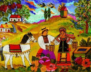 В Киеве пройдет выставка живописи на стекле