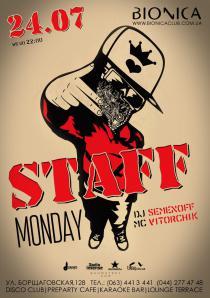 Staff Monday