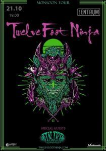 Twelve Foot Ninja and Jinjer