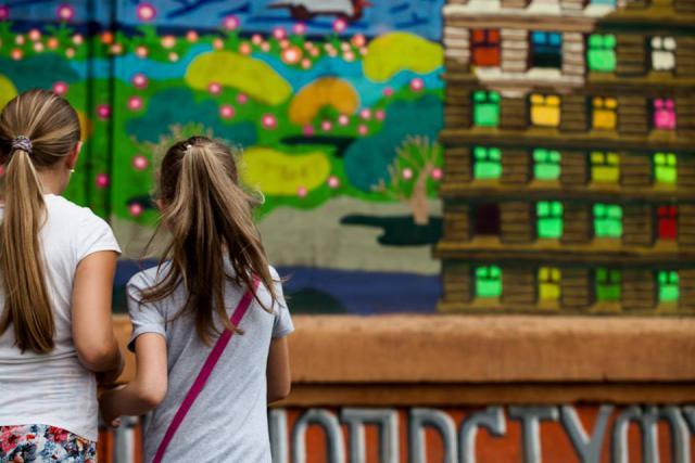 В Украине художники со всего мира нарисовали 11 муралов