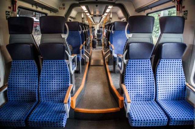 Пригородные поезда в Германии