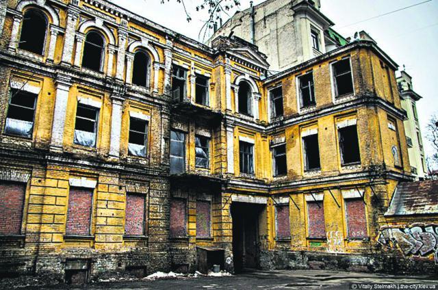 Наследие. Сейчас здание находится в полуразрушенном состоянии. Фото: В. Гриза