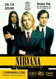 """Триб'ют """"Nirvana"""" від гурту """"Fontaliza"""" & """"Tex-Mex"""""""