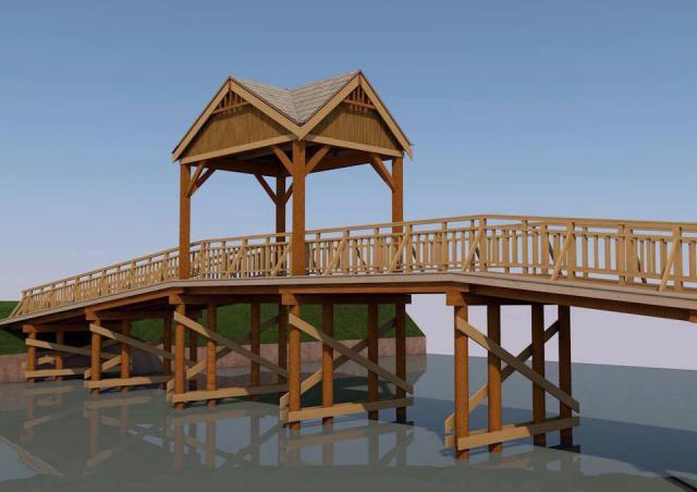 Каким будет мост. Визуализация