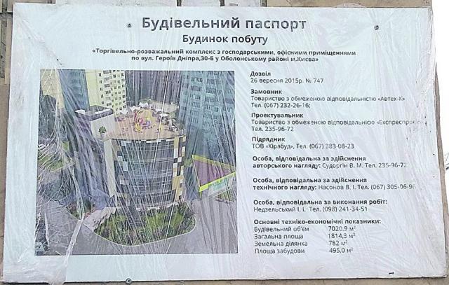 Проект нового ТРЦ возле метро