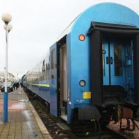Появились фото новых вагонов, которые отправятся по маршруту Киев-Вена