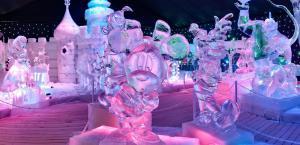 На Софийской площади откроют парк ледяных скульптур