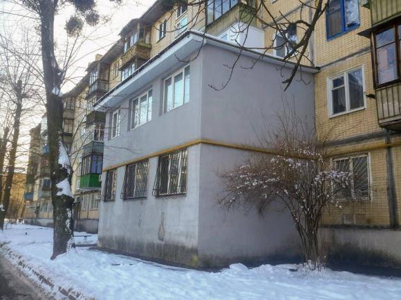 Een Winters Balkon : В Киеве обнаружили двухэтажный дом балкон. Фото