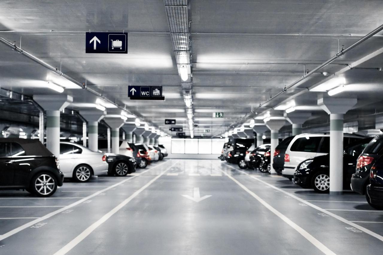 Появился список паркингов в центральной части Киева