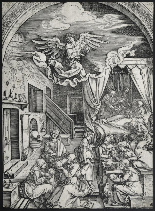 «Рождение Девы Марии» Дюрера
