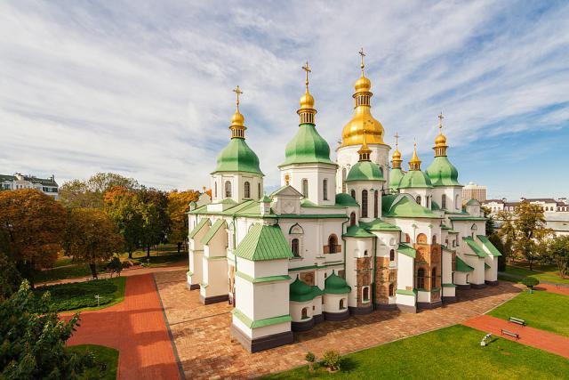 Софийский собор, Киев. Автор фото - Роман Бречко