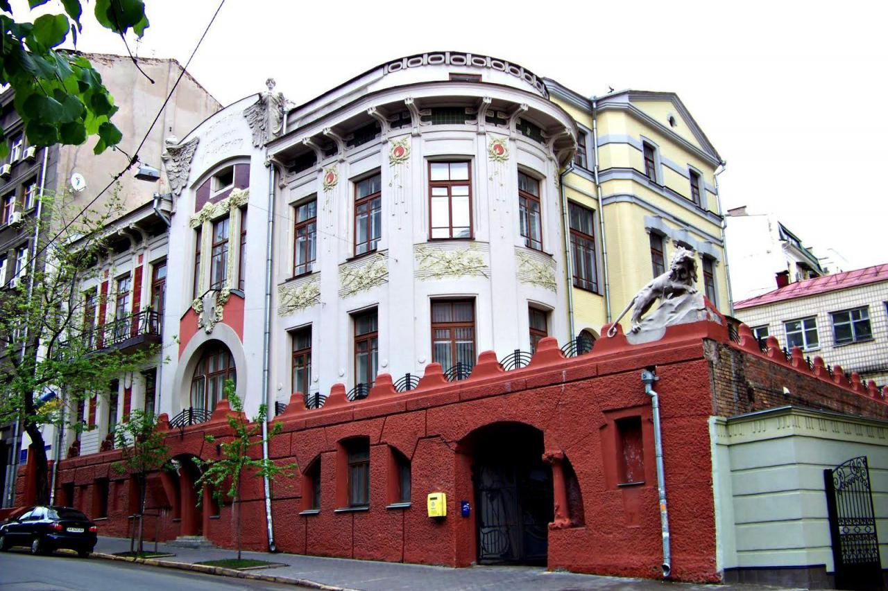 В Киеве пройдет вечеринка на крыше старинного особняка