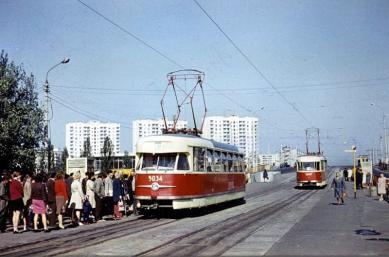 Позняки, Троещина и Дарница: как выглядел левый берег Киева 50 лет назад