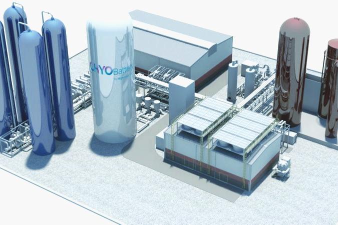 Технологии будущего: в Великобритании строят первый в мире завод «жидкого воздуха»