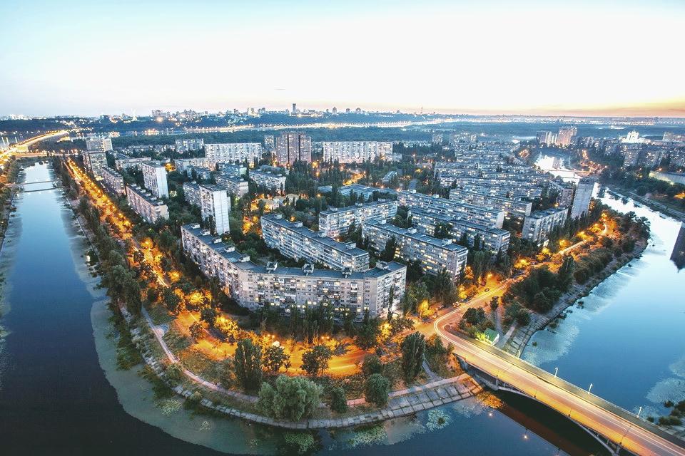 После ливней киевский воздух неожиданно стал самым чистым среди мегаполисов