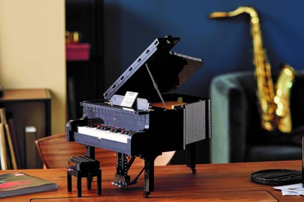 Lego выпустит новый конструктор - рояль, на котором можно будет даже сыграть