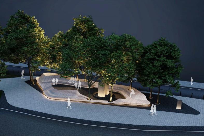 В Киеве реконструируют Литовский сквер: как он будет выглядеть