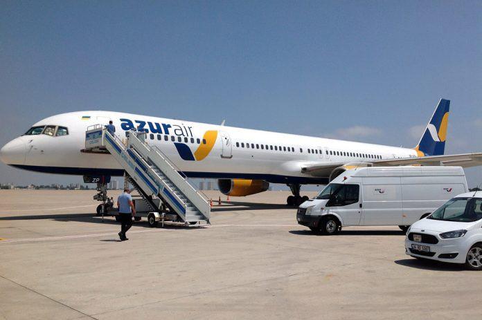 Авиакомпания Azur АirUkraine пополнила свой флот новым для Украины типом самолета