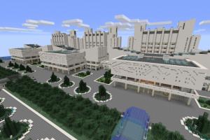 Студент воссоздал в Minecraft корпус университета имени Шевченко